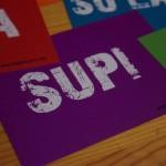 """Postkarte """"SUPI"""" (10 Stück)"""