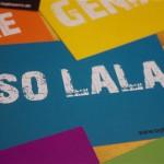 """Postkarte """"SO LALA"""" (10 Stück)"""