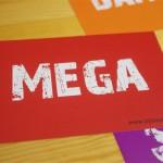 """Postkarte """"MEGA"""" (10 Stück)"""