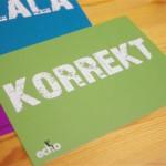 """Postkarte """"KORREKT"""" (10 Stück)"""